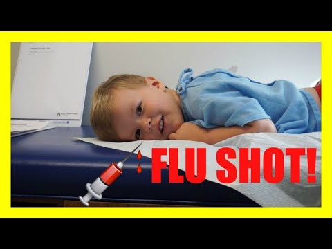 💉 ANDREW GETS A FLU SHOT AT THE DOCTOR! 3 YEAR CHECK UP!