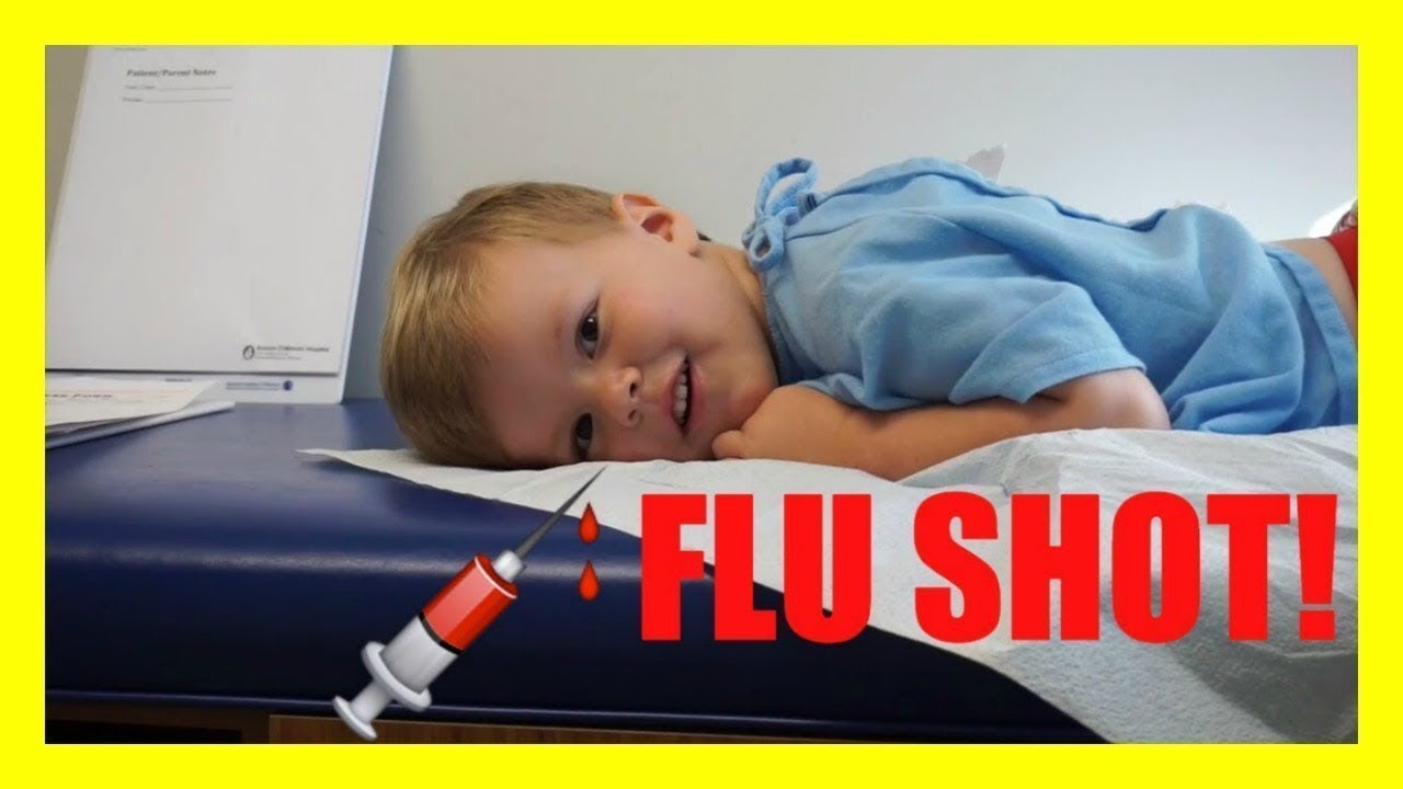 3 YEAR OLD GETTING SHOTS!