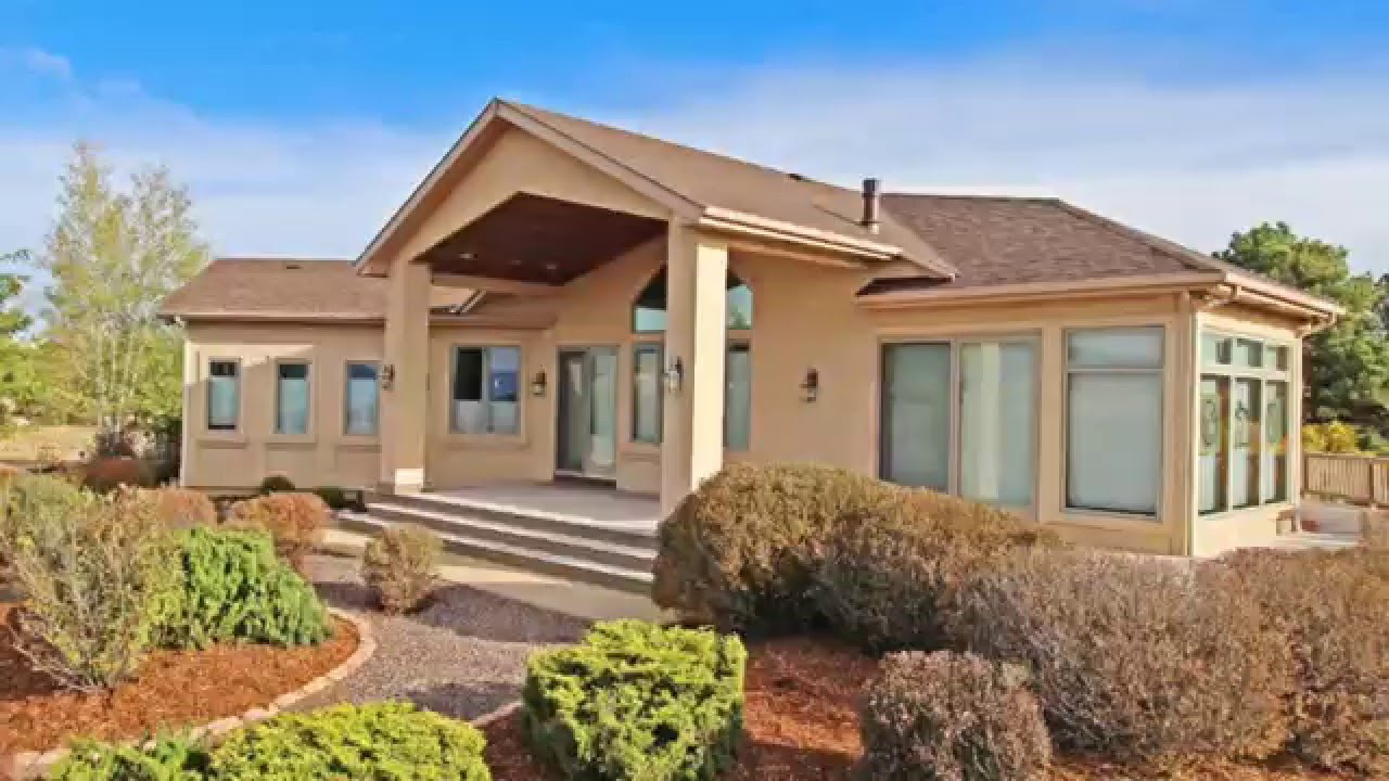 Home For Sale at Auction in Colorado Springs, CO - YouTube