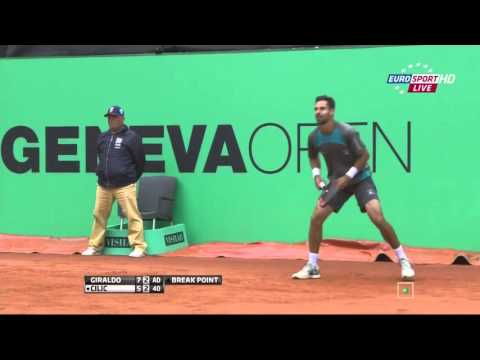 Santiago Giraldo vs Marin Cilic FULL MATCH HD Geneva 2015 PART 2