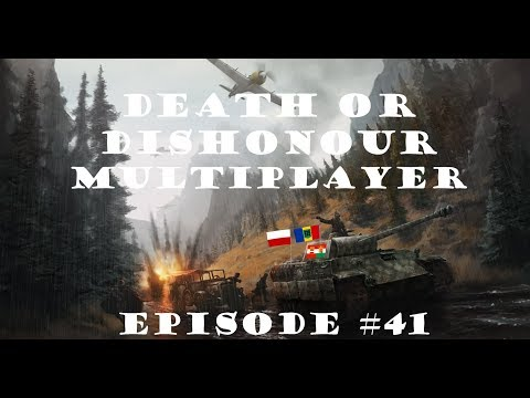 HOI 4 Multiplayer: Death Or Dishonour Episode 41 - Treaty Of Pretoria