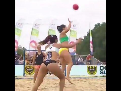 Argentina vs Brazil – Womens Beach Handball Final – World Games 2017