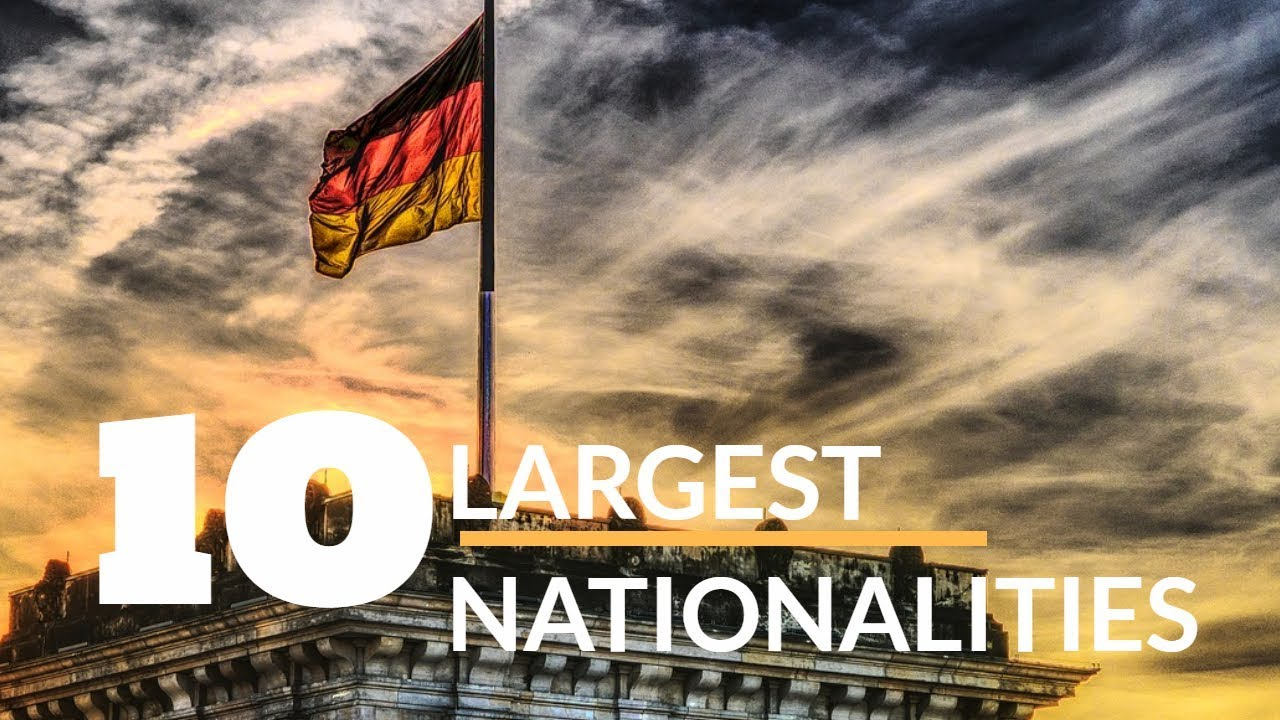 TOP 20 – FOREIGNERS LIVING IN GERMANY
