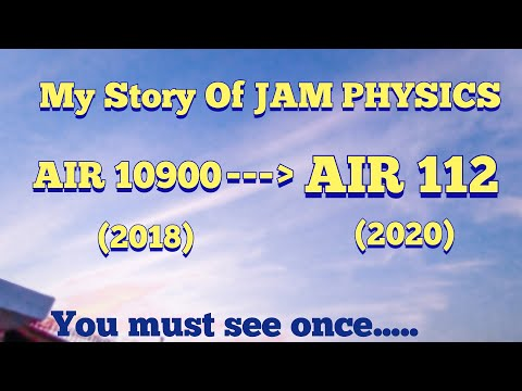 IIT JAM PHYSICS (AIR 112). If I can then You definitely can. Believe in Yourself😇