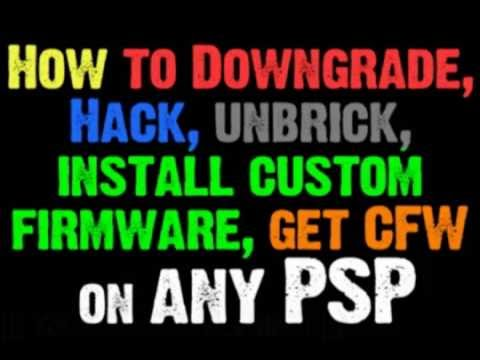 how to unbrick psp fat