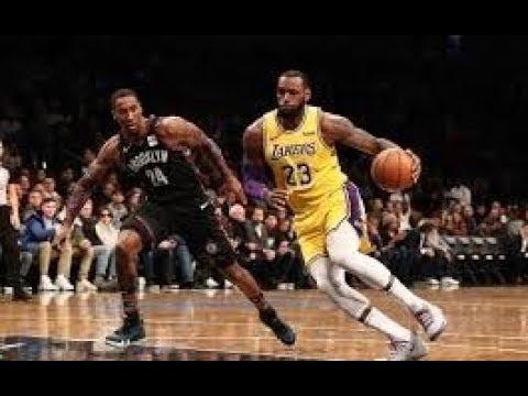 Los Angeles Lakers Vs Brooklyn Nets Nba Full Highlights