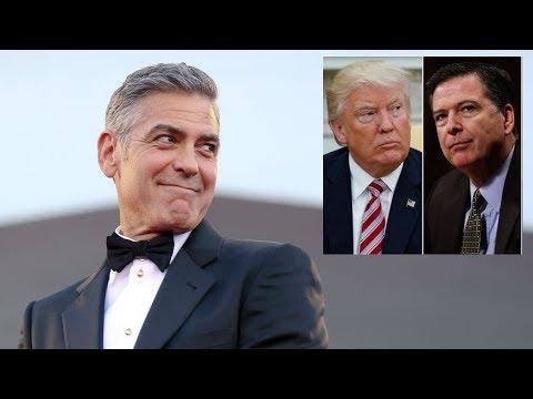 George Clooney Sells Billion Dollar Tequila Company, Trump Speaks on Comey & DNC Servers