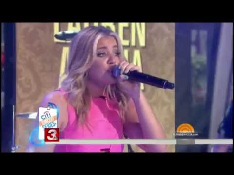 Lauren Alaina performs on the TODAY Show