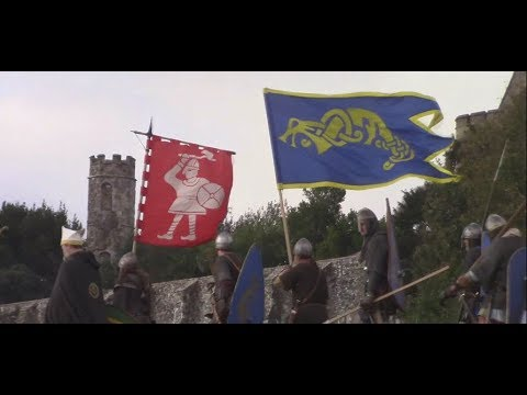 Battle of Hastings Reenactment, 2017 (2/2) 2nd and 3rd Norman Attacks, Saxon Line Breaks