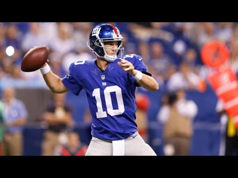 Eli Manning Highlights