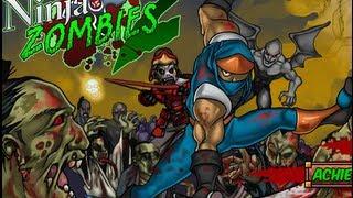 Ninja vs Zombies 2 Level1-15 Walkthrough