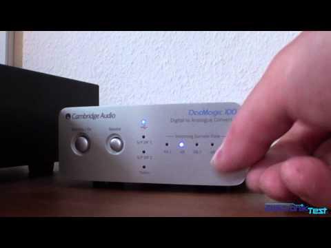 Cambridge dacMagic 100 Digital to Analogue Converter USB mode @ Elektroniktest.dk