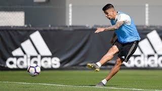 Juventus train for Serie A return on Saturday vs. Empoli