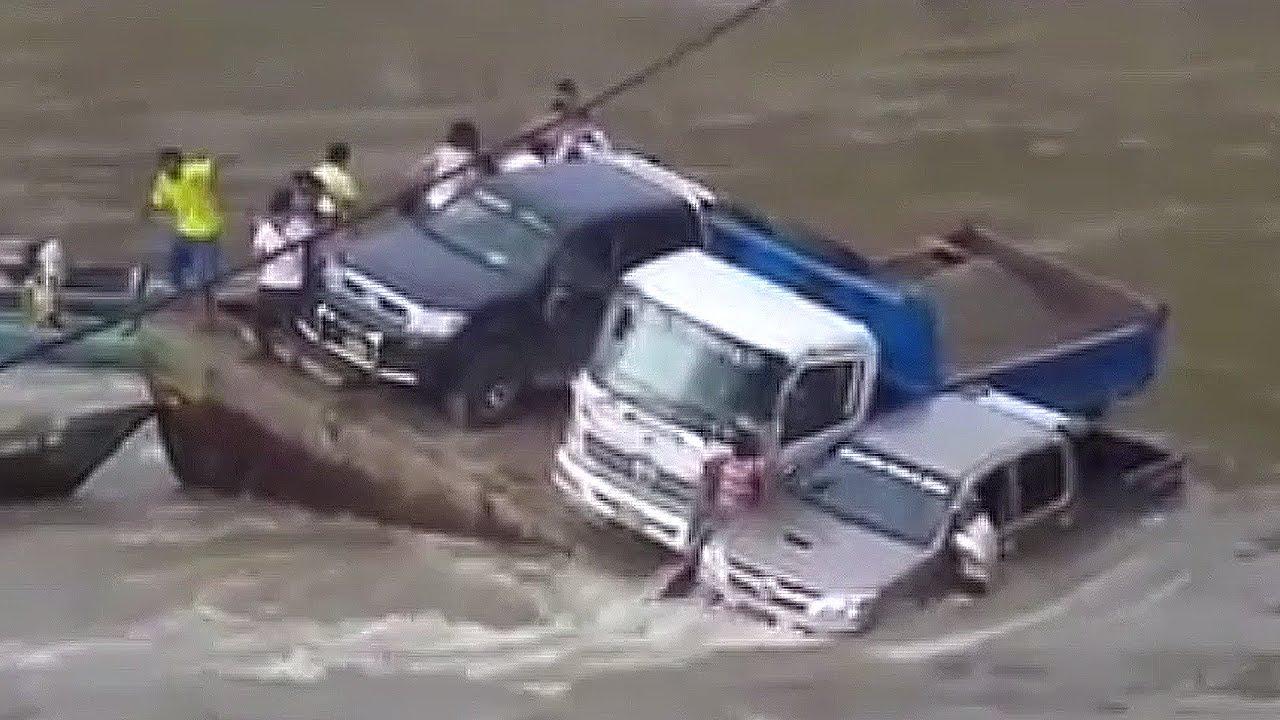 Cars Crashing On Ice Video