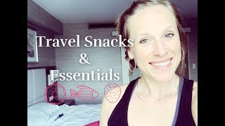 TRAVEL SNACKS& ESSENTIALS!Join me in Boston!