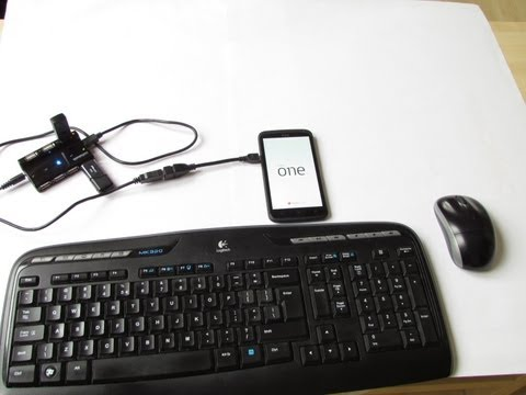 HTC One X+ USB On The Go (USB Host) - different capabilities (HD)