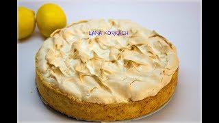 ЛИМОННЫЙ ПИРОГ С БЕЗЕ/Меренга/Рецепт/Bezy/Pie
