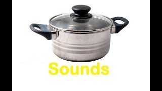 Pot Lid Sound Effects All Sounds