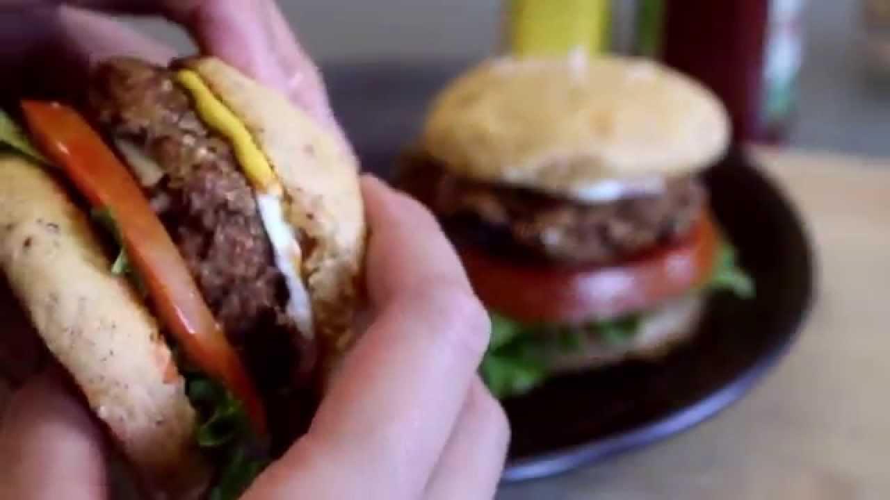 Easy Vegan Burger Recipe Mary S Test Kitchen Youtube