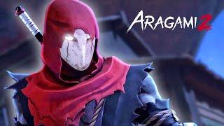 Jogo de Combate e Furtividade Ninja | Aragami 2 Gameplay em Português PT-BR