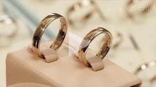 Кольцо с бриллиантом крупный квадрат огранки Принцесса  Обручальные кольца на садьбу