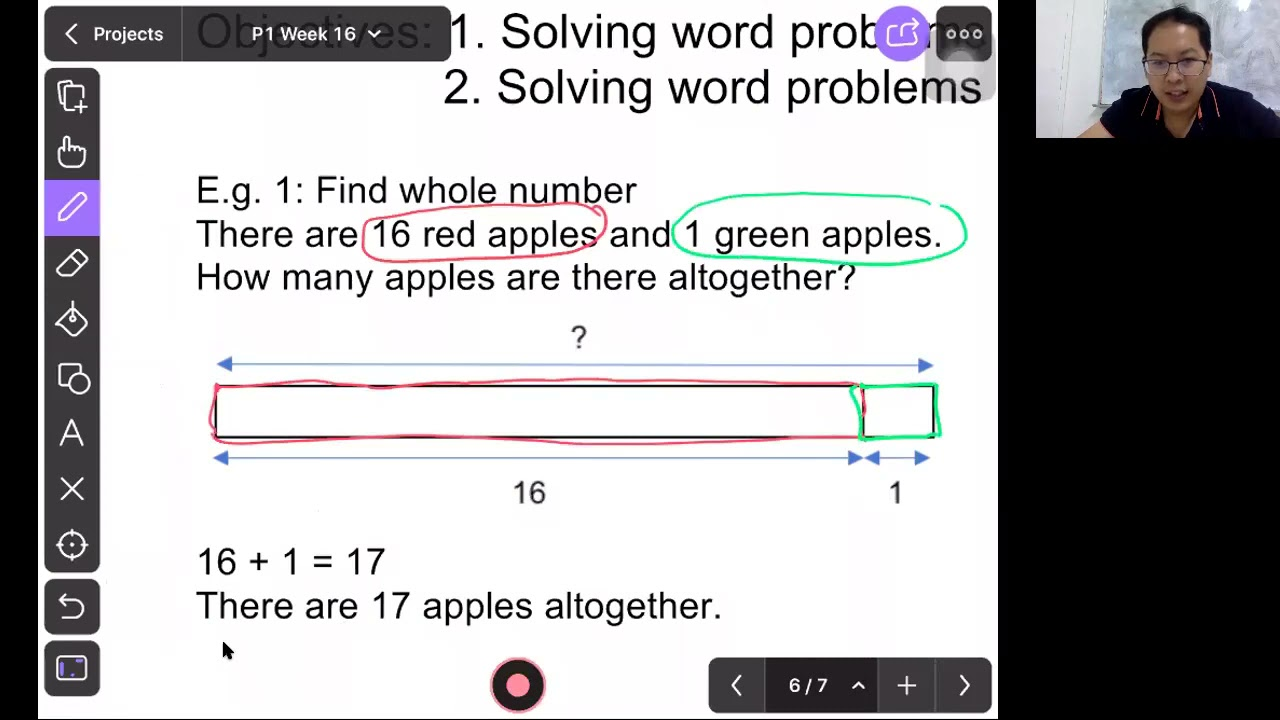 P1 Math : Addition and Subtraction Within 20 (Part 2)