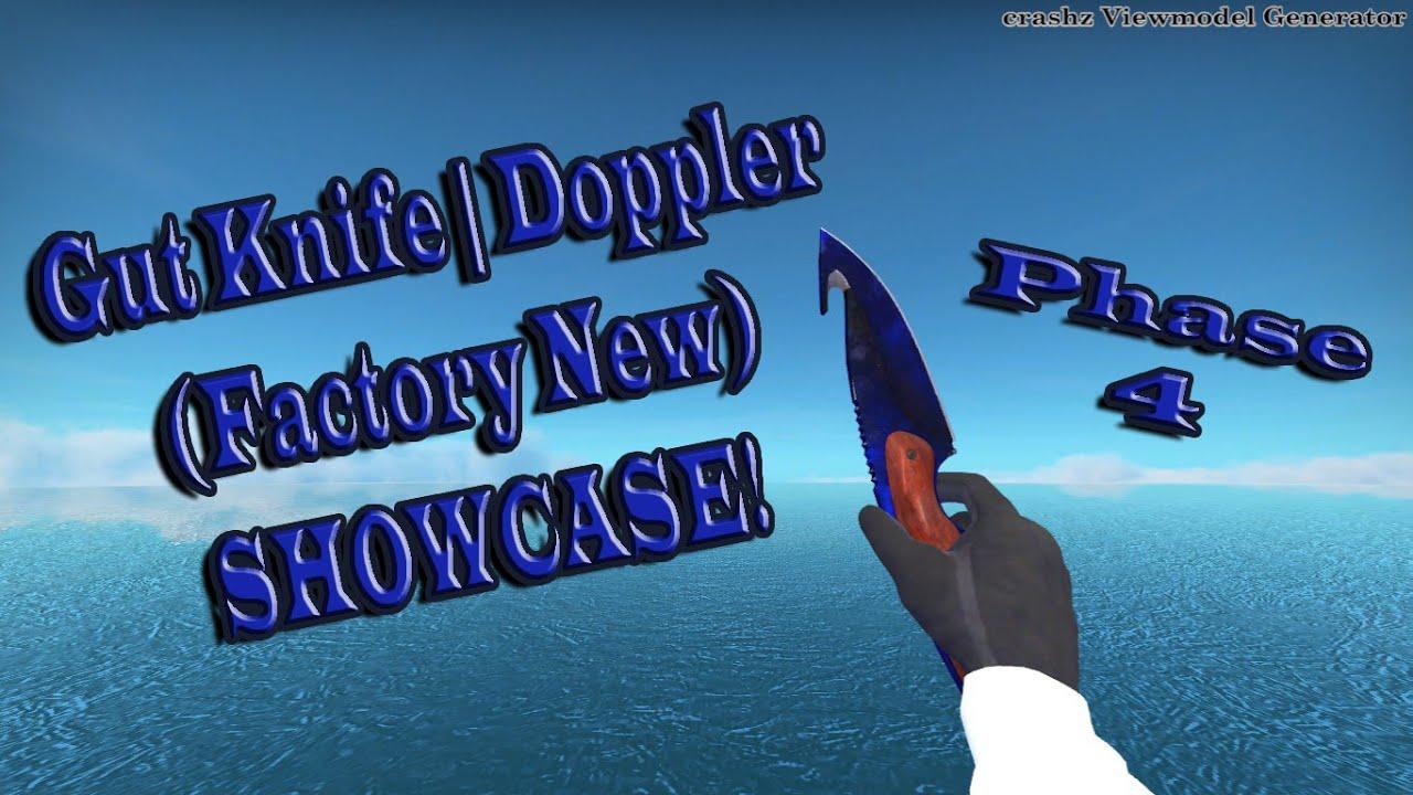 Gut Knife | Doppler (Factory New) SHOWCASE {CS:GO} by Zeplix