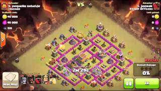 Clash of clans | worst hogs attack failed
