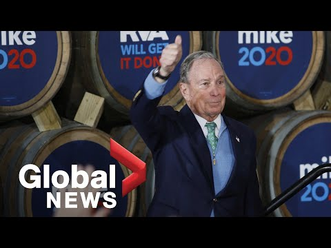 Billionaire Mike Bloomberg Makes Gains In Democratic Presidential Race