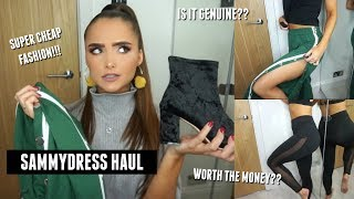 SAMMYDRESS TRY ON HAUL& REVIEW- cheap affordable fashion | Adina May