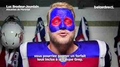 belairdirect - Maquillage de fan simplifié avec Luc Brodeur-Jourdain