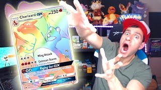 HYPER RARE CHARIZARD! Where You At?! - Opening Sun and Moon Pokemon Cards!