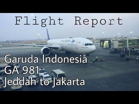 Flight Report | Garuda Indonesia Boeing 777-300ER GA 981 Jeddah to Jakarta