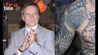 Следователи расшифровали татуировки «вора в законе» Шишкана