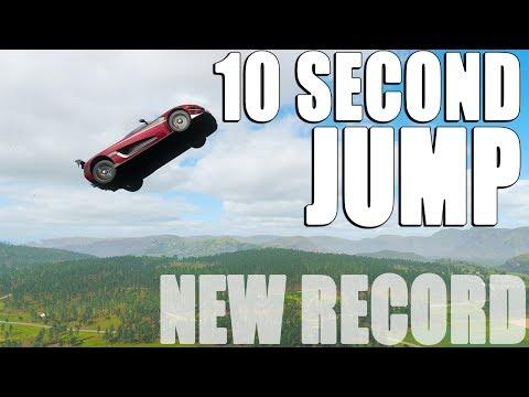 10 SECOND BIGGEST JUMP RECORD ON FORZA HORIZON 4 thumbnail