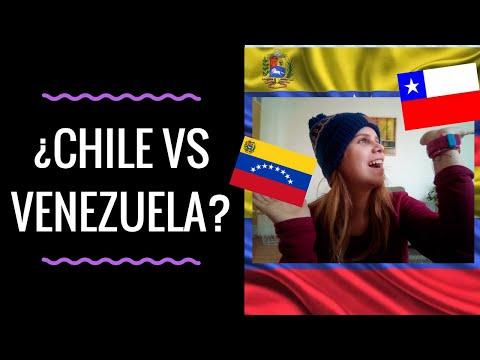 CHILE vs VENEZUELA 🎆    VENEZOLANA en CHILE