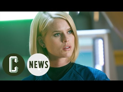 Simon Pegg Explains Why Alice Eve Wasn't in Star Trek Beyond