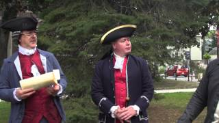 1765 Stamp Act Protest Reenactment