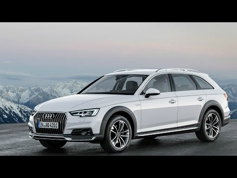 2017 Audi A4 Allroad Quattro Interior, Exterior and Drive
