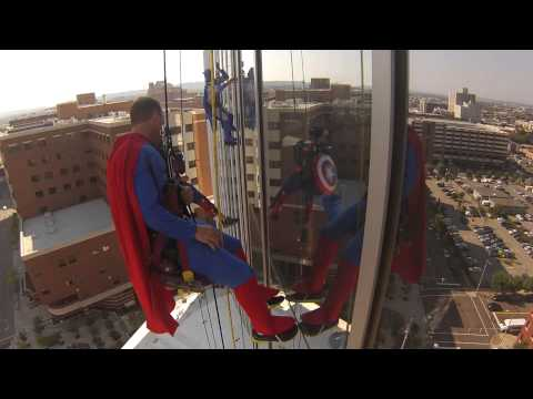Squeegee - Superheroes at Children's Hospital Alabama