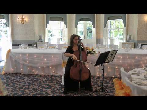 Cello Suites Prelude (Bach) Wedding Solo Cello