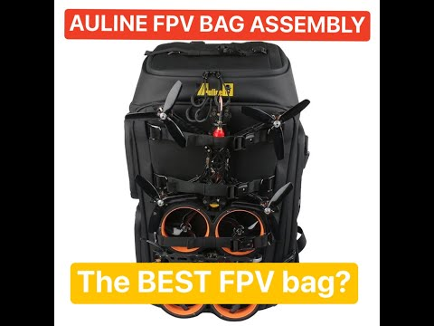 Фото Auline FPV bag - Setup - How does this thing go together?