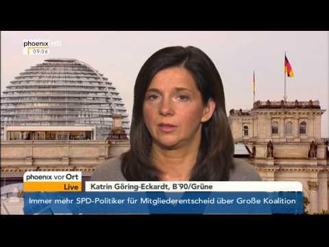 Tagesgespräch mit Katrin Göring-Eckardt am 27.09.2013