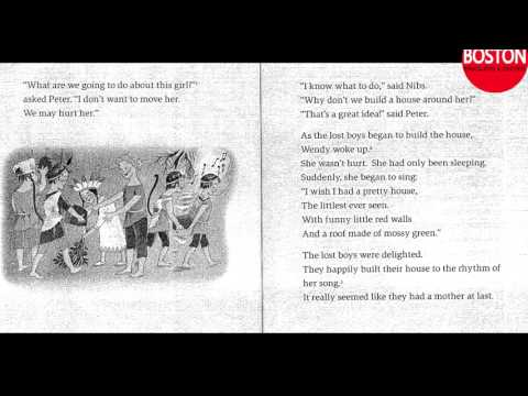 English listening practice   Audio Picture Stories    Beginner level   Peterpan