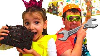Вредные сладости и конфеты - история про челлендж шоколад как съедобное и настоящее