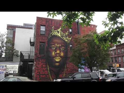 BIGGIE SMALLS / BED-STUY BROOKLYN HOOD / MURAL