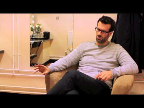 An interview with Marcus Brigstocke - 'The Brig Society'