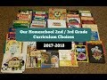 Our Homeschool 2nd / 3rd Grade Curriculum Choices for 2017-2018