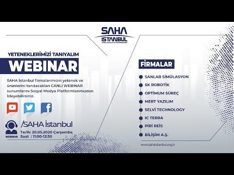 SAHA İstanbul Yazılım Otomasyon ve Dijital Dönüşüm Komitesi 20.05.2020 Canlı yayını