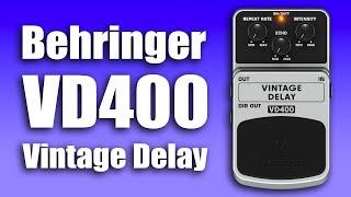 Behringer VD400 Vintage Delay - Boss DM-3 Clone